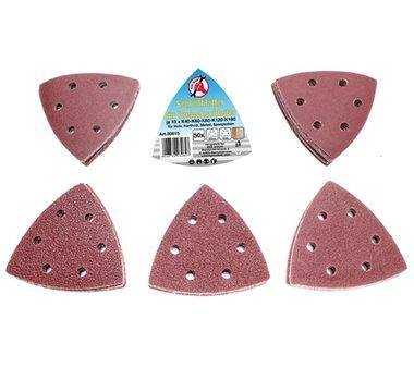 50-teilige Schleifbeläge für Dreiecksschleifer