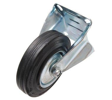 Bockrolle 125 mm, mit Anschraubsockel