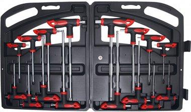 16-teiliger Steckschlüssel- und Torxschlüsselsatz