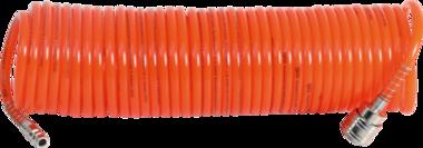 Druckluft-Spiralschlauch 10 m
