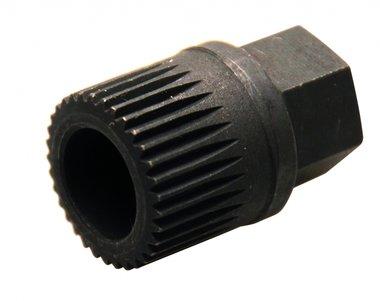 33- Zahnaufsatz mit 15 mm Außensechskant. Von BGS 4248