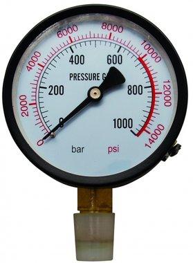 Manometer für Werkstatt Presse BGS 9246