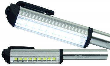 Aluminium-LED-Stift mit 9 LEDs