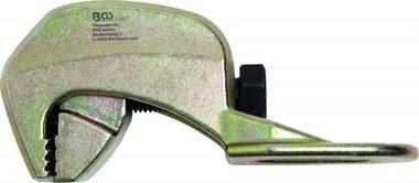 Klaue für Karosserie Ausrichtung 90 ° abgewinkelt, 40 mm, eine Zugrichtung, bis 2 zu.
