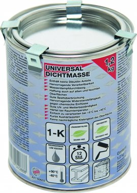 Universelle Dichtstoffe, 1,2 kg Dosis