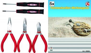 Feinmechaniker-Werkzeugsatz, 5-tlg.