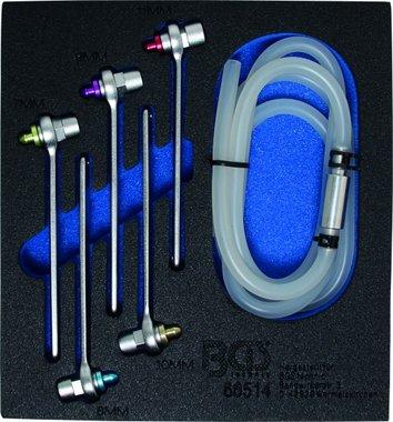 Bremsen-Entlüfterschlüssel-Satz, 7-8-9-10-11 mm, 6-tlg.
