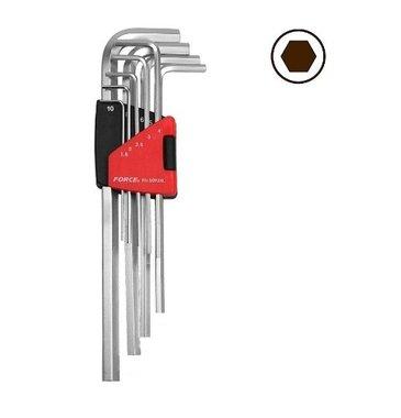 Winkelschlüsselsatz Innensechskant XL Zoll 9 tlg