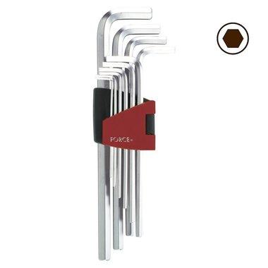 Winkelschlüsselsatz Innensechskant XL 10 tlg
