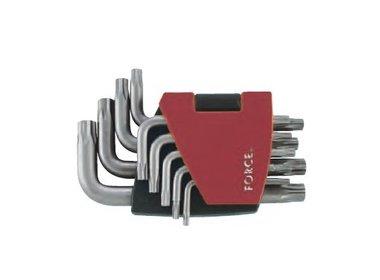 Winkelschlüsselsatz Torx 5-Stern TS Profil 9 tlg