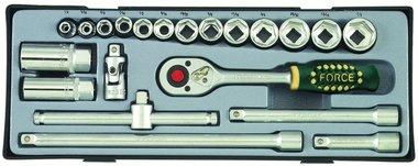 3/8 Steckschlüsselsatz Zoll 21 tlg