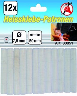 Heissklebe-Patronen 7,5 mm, 12-tlg.