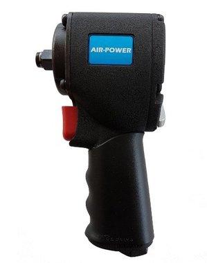 Pneumatische mini slagmoersleutel 1/2 678 Nm