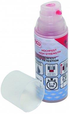 Schroefvergrendeling Fluid, hoge sterkte, 50g Pump Dispenser