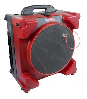 Tragbarer Luftreiniger mit HEPA-Filter.