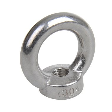 Ringmutter M10, A4 RVS AISI 316