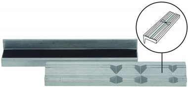 Schraubstock-Schutzbacken, Aluminium, 150 mm, 2-tlg.