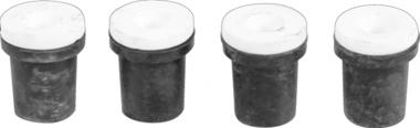 Ersatzdüsen für Druckluft-Sandstrahlgerät, passend für BGS 8989