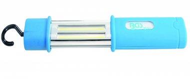 Akku-Handleuchte COB-LED wasserdicht 5W