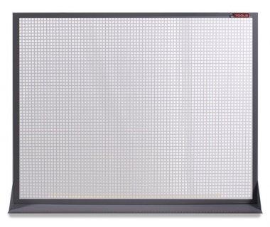 Perfopaneel Metall grau 120x94cm