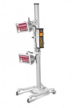 Infrarot-Lacktrockner mit 2 Lampen