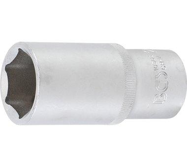 Steckschlüssel-Einsatz Sechskant, tief   12,5 mm (1/2