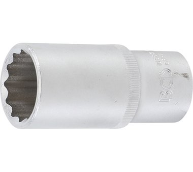 Steckschlüssel-Einsatz Zwölfkant, tief   12,5 mm (1/2