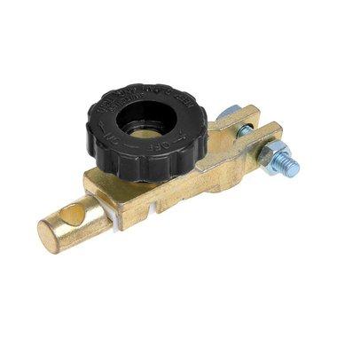 Batteriepolklemme (-) 12,5mm mit Stromunterbrecher
