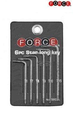 Star langer Schlüssel 6 Stück