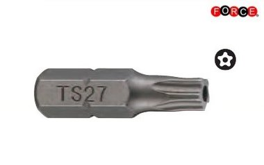 1/4 Fünfseitige Stern-Tamper-Bit TS20