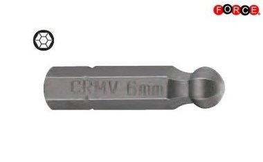 1/4 Sechskant Kugelspitze 30mmL 6