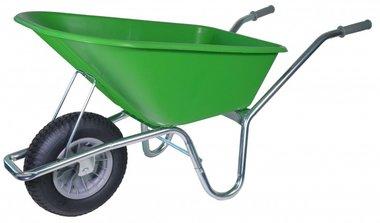 Gartenschubkarre galvanisierter Rahmen 100 Liter