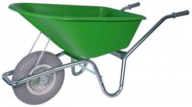 Gartenschubkarre verzinkter Rahmen 100 Liter