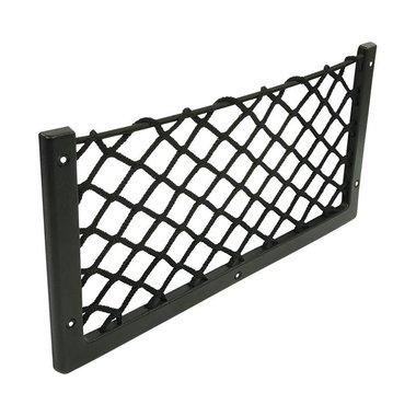 Ablagenetz elastisch 366x180cm mit Rahmen Kunststoff NS-14