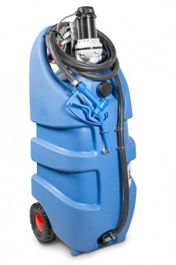 Tank Adblue blau 110 Liter, Pumpe 12V