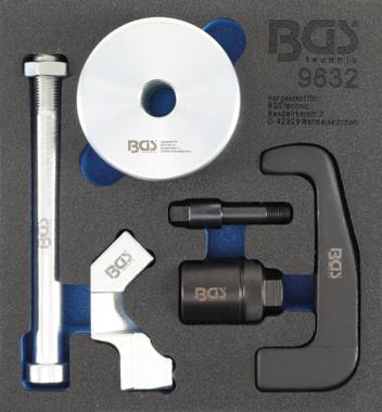 Injektoren-Auszieher für Bosch CDI Injektoren 6-tlg