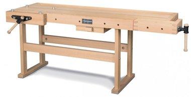 Professionelle Holzwerkbank - 2120x790 mm
