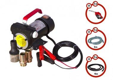 Set Dieselpumpe 12V, Pistole, Schlauch, Kupplung
