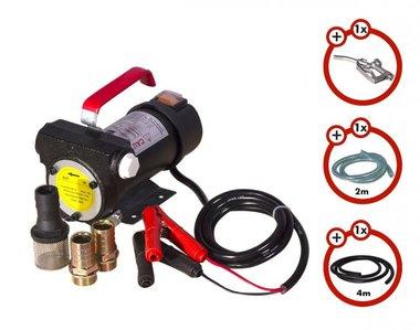 Dieselpumpe 24 V + Pistole + Dieselschlauch + 2x Kupplung