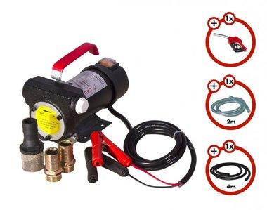 Set Dieselpumpe 24V, Pistole, Schlauch, Kupplung