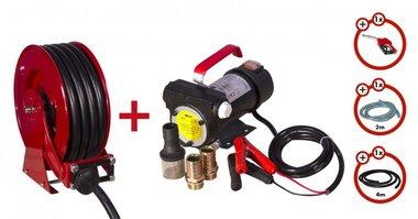 Dieselpumpe 24V + Aufroller + Pumpenset