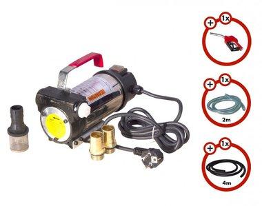 Set Dieselpumpe 230V, Pistole, Schlauch, Kupplung