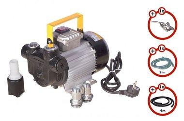 Dieselpumpe 230V + Pistole + Dieselschlauch + Kupplung