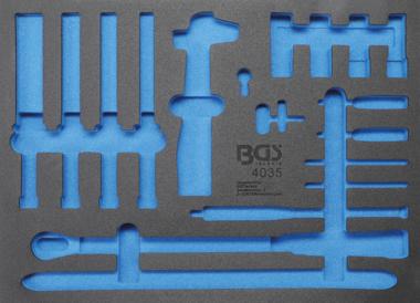 Werkstattwageneinlage 3/3 leer für Art. 4035
