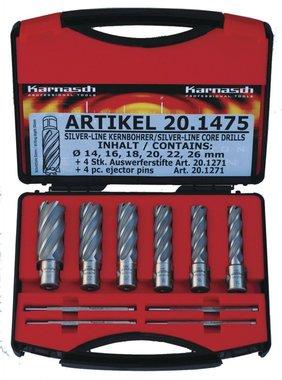 Satz Kernbohrer 14 - 26mm