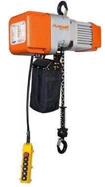 Elektrokettenzug 1 Tonne, 661 x 276 x 460 mm