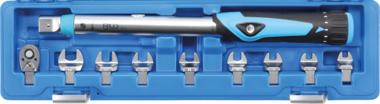 Drehmomentschlüssel-Satz 6,3 mm (1/4) 10 - 50 Nm 10-tlg.