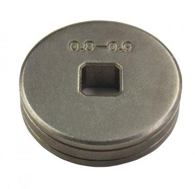 Vorschubrolle Stahl 0,8-1 mm