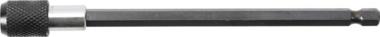 Verlängerung für Bürsten | für Art. 3078 | Abtrieb Innensechskant 6,3 mm (1/4)