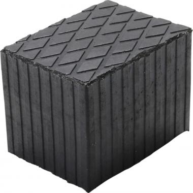 Gummiauflage | für Hebebühnen | 160 x 120 x 120 mm